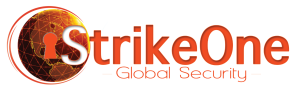 Strike one logo